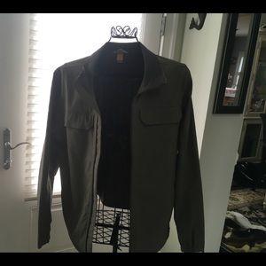 Eddie baurer olive men's coat great cond medium